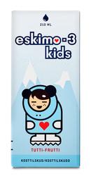Eskimo-3 Kids m. tutti frutti smag 210 ml