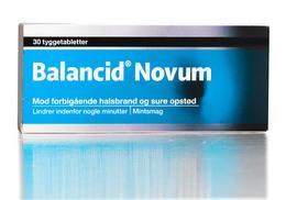 Balancid Novum Tyggetablet 30 Stk.