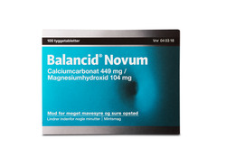 Balancid Novum Tyggetablet 100 Stk.