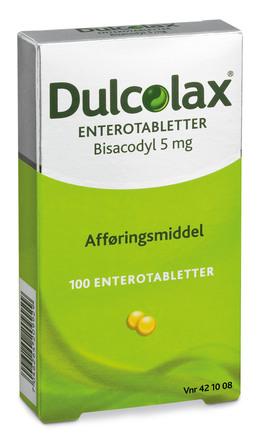 Dulcolax Enterotabl. 5 mg 100 stk.