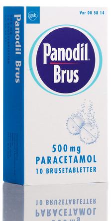 Panodil Brus 500 mg 10 tabl.