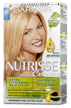 Garnier Nutrisse 10 Ekstra Lys Blond