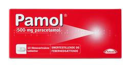Pamol 500 mg 10 tabl.