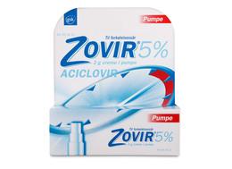 Zovir Creme 5% pumpe 2 gr