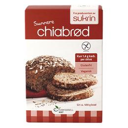 Funksjonellmat Brødmix chia og hamp glutenfri 250 gr.