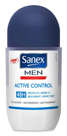 Sanex For Men Dermo Active Deodorant Roll-On 50 ml