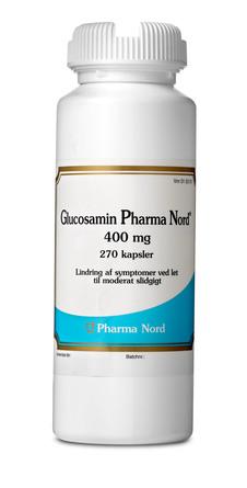 Pharma Nord Glucosamin 400 mg 270 kapsler