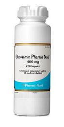 Glucosamin 400 mg 270 kapsler