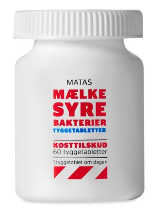 Matas Striber Mælkesyrebakterier Tygbar 60 tabl.