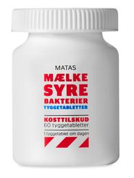 Matas Striber Matas Mælkesyrebakterier Tygbar 60 tabl. 60 tabl.