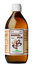 Natur Drogeriet Mandelolie fed sød 500 ml