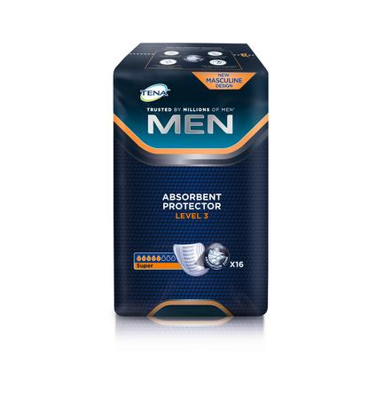Tena For MEN Level 3  16 stk.