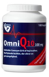 OmniQ10 100 mg 180 kap