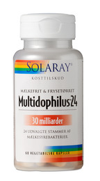 Solaray Multidophilus 24,  60 kap.