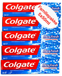 Colgate Max Fresh tandpasta 5-pak