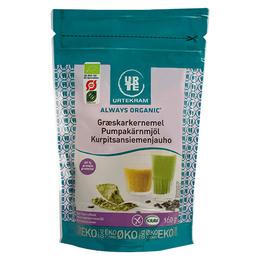 Urtekram Græskarmel Øko 160 gr.
