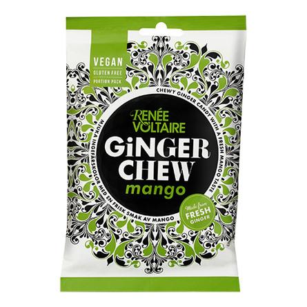 Renée Voltaire Ginger Chews Mango  120 gr.