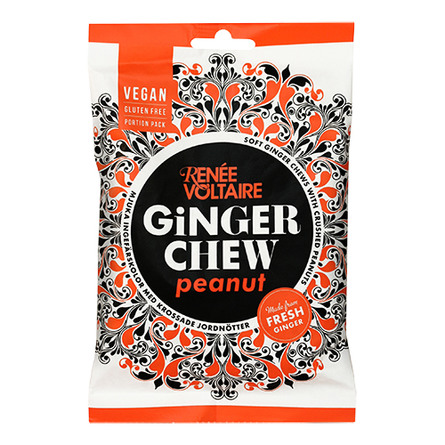 Ginger Chew Peanut Renée Voltaire 120 g