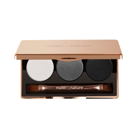 Nude by Nature Natural Illusion Eyeshadow Trio 02 Smokey, 1 Stk