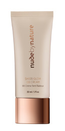 Nude by Nature Sheer Glow BB Cream 02 Soft Sand, 30 Ml