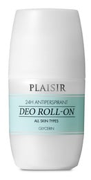 Plaisir 24H Antiperspirant Deo Roll-On All Skin Types 50 ml