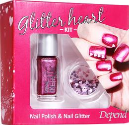 Depend Glitter Kit Pink gaveæske