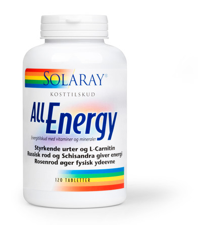 Solaray All Energy 120 tabl.