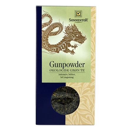 Kinesisk grøn te Gunpowder Ø Sonnentor 100 g