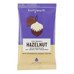 Chokolade Hazelnut Ø m 42% kakao & hasselnø 30 g