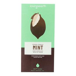 Chokolade Mint Ø m mynte og 71% kakao Lovin 80 g
