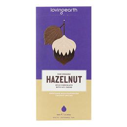 Chokolade Hazelnut Ø m 42% kakao & hasselnø 80 g