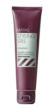 Matas Striber Styling Gel Extra Strong Hold Uden Parfume 100 ml