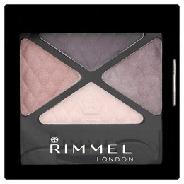 Rimmel Glam'Eyes Quad Øjenskygge 003 Smokey Purple