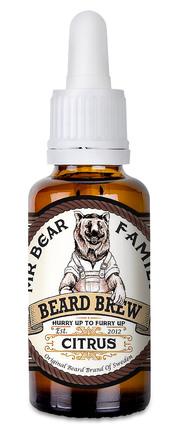 Mr. Bear Family Mr. Bear Beard Brew Oil Citrus, 30 ml.