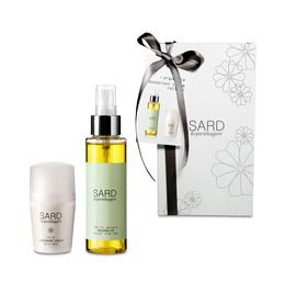 SARD gaveæske med ren arganolie og deo roll-on