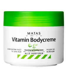 Matas Striber Matas Vitamin Bodycreme 250 ml