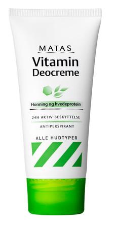 Matas Striber Vitamin Deocreme 50 ml