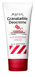 Matas Striber Matas Granatæble Deocreme 50 ml