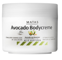 Matas Striber Matas Avocado Bodycreme 250 ml 250 ml
