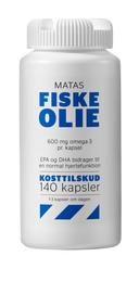 Matas Striber Fiskeolie 1000 mg 140 kaps.