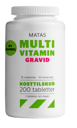 vitaminer vid graviditet