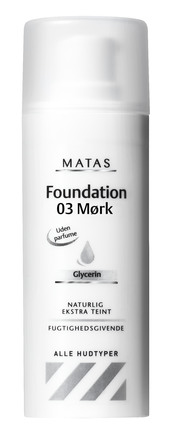 Matas Striber Foundation 03 Mørk