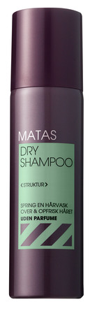 Matas Striber Dry Shampoo Uden Parfume 200 ml