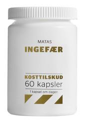Matas Striber Matas Ingefær 60 kaps.