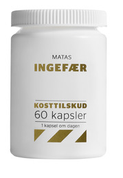 Matas Striber Ingefær 60 kaps.