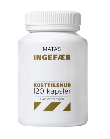 Matas Striber Ingefær 120 kaps.