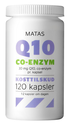 Matas Striber Q10 Co-enzyme 30 mg 120 kaps.