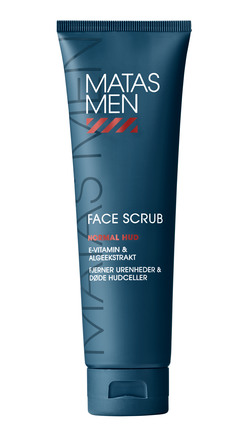 Matas Striber Men Face Scrub til Normal Hud 150 ml