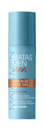 Matas Striber Men Anti Age Face Gel Sensitiv Uden Parfume 50 ml