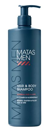 Matas Striber Men Hair & Body Shampoo 500 ml